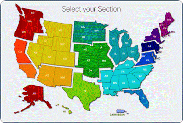USA Section Map